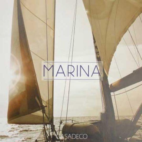 Морской стиль интерьера вместе с французскими Casadeco Marina