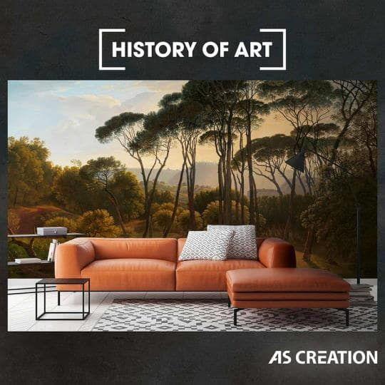 Історія мистецтва на стінах