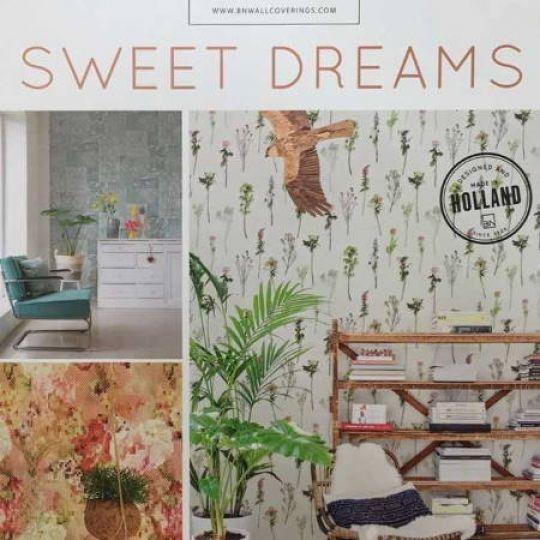 Коллекция обоев BN International Sweet Dreams