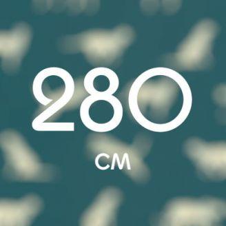 280 см