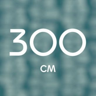 300 см