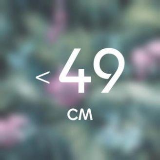 До 49 см