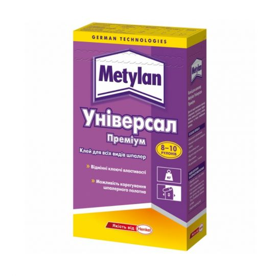 Клей обойный Metylan Универсал 250 г для всех видов обоев