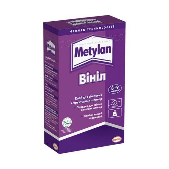 Клей обойный Metylan Винил 300 г для виниловых и структурных обоев