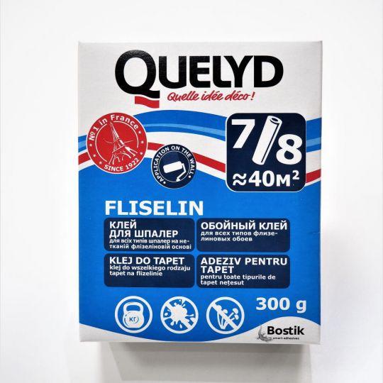 Клей обойный Quelyd Fliselin 300 г для всех типов флизелиновых обоев