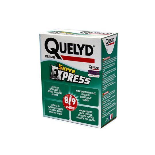 Клей обойный Quelyd Super Express 250 г для бумажных и легких виниловых обоев