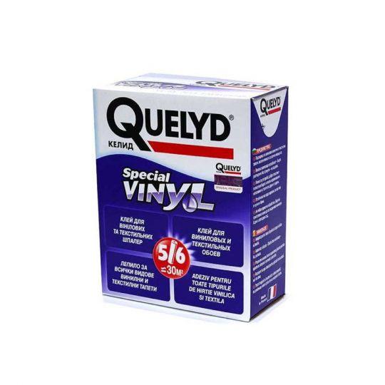 Клей обойный Quelyd Special Vinyl 300 г для виниловых и текстильных обоев
