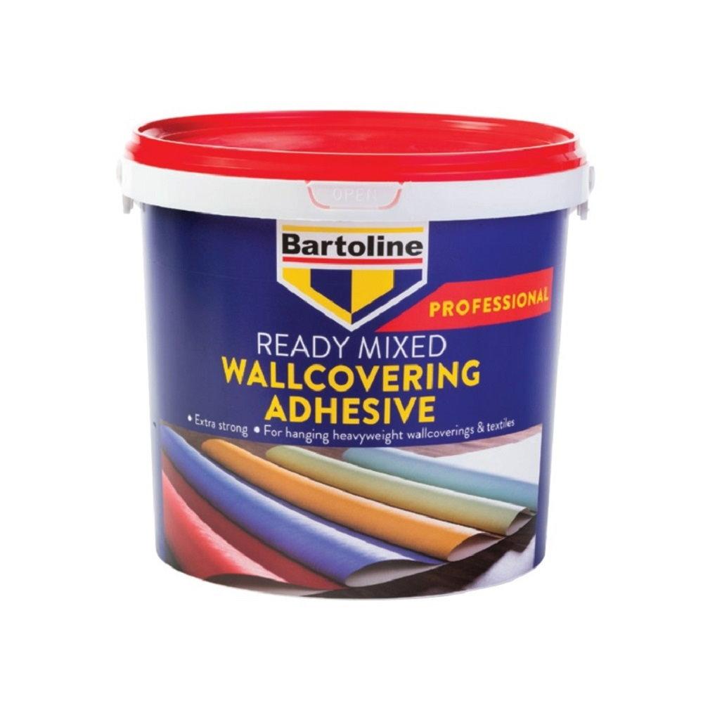 Клей для обоев профессиональный Bartoline k_MGA ведро 5 кг готов к применению