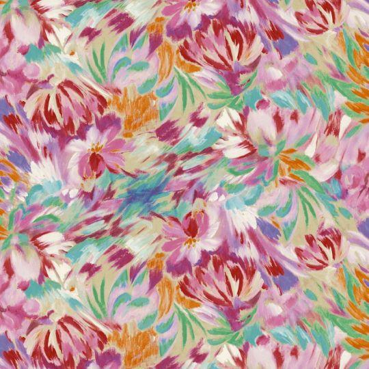 Обои Sirpi Missoni 3 10220 цветочное полотно пестрое