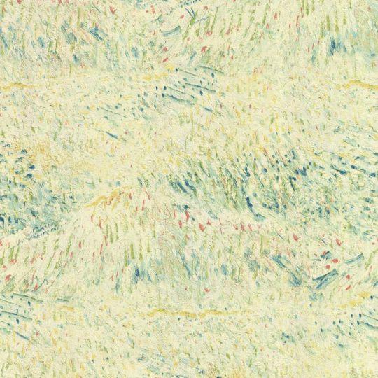 Шпалери BN International Van Gogh 17180 квітучий сад салатовий
