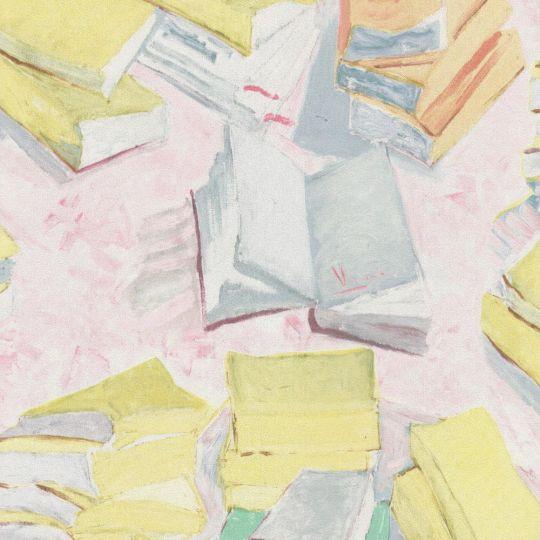 Шпалери BN International Van Gogh 17190 книги жовті