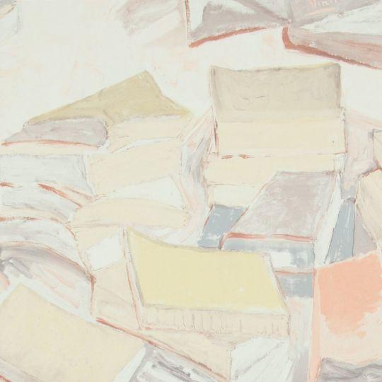 Шпалери BN International Van Gogh 17192 книги бежеві