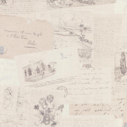 Шпалери BN International Van Gogh 17200 листи бежеві
