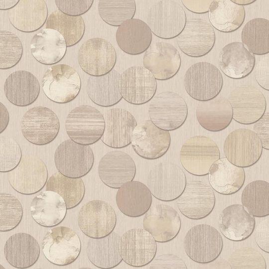 Шпалери Grandeco ATB 174704 Bubbles кола бежеві метрові