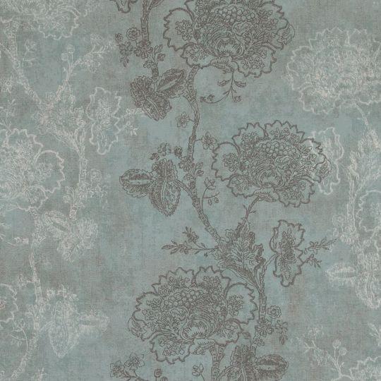 Обои BN International Indian Summer 218565 цветы голубые
