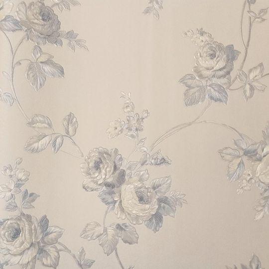 Обои Sirpi Italian Tradition 21864 розы бело-голубые