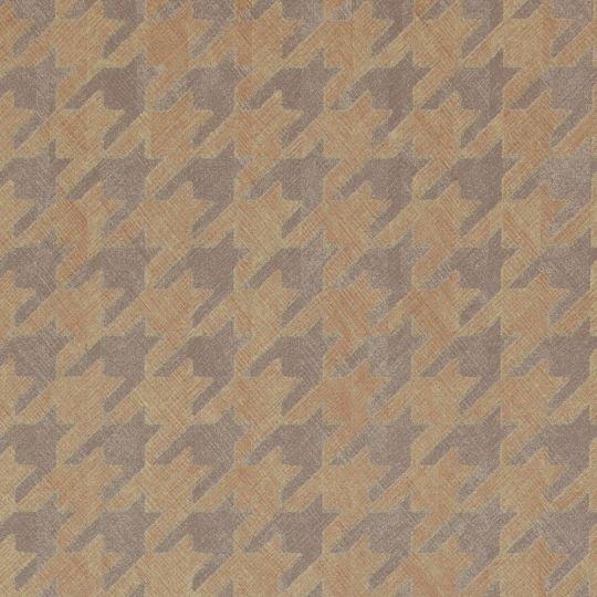 Обои BN International Interior Affairs 218722 гусиные лапки темно-золотые