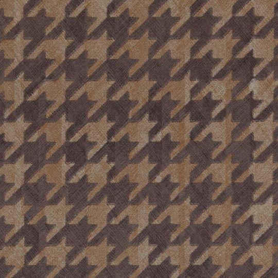 Обои BN International Interior Affairs 218727 гусиные лапки темно-коричневые