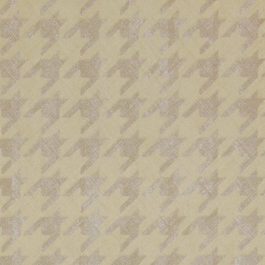 Обои BN International Interior Affairs 218728 гусиные лапки светло-желтые