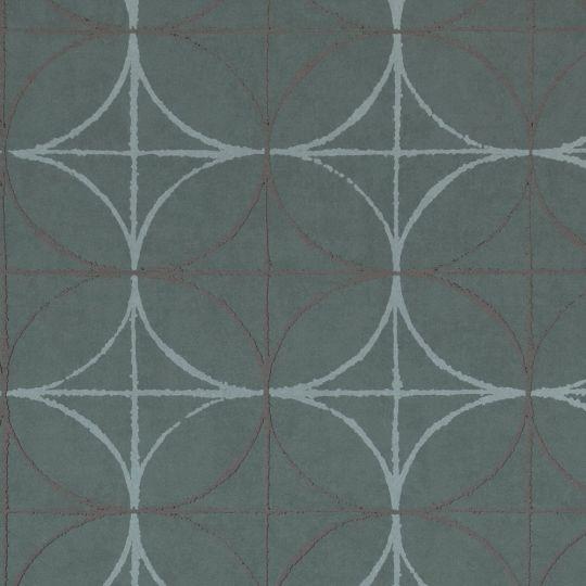Обои BN International Interior Affairs 218750 геометрия темно-синие