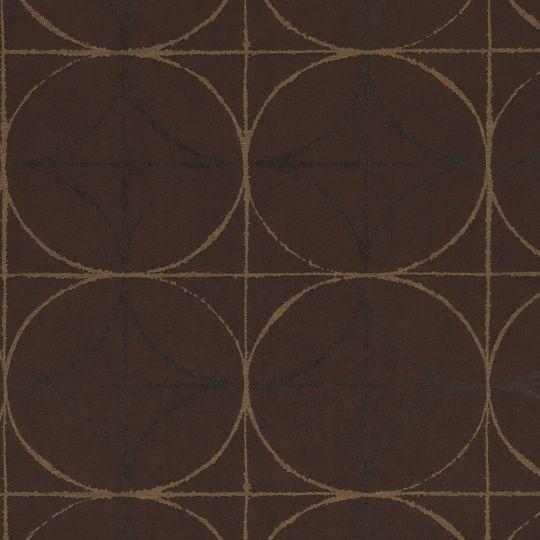 Обои BN International Interior Affairs 218754 геометрия темно-коричневые