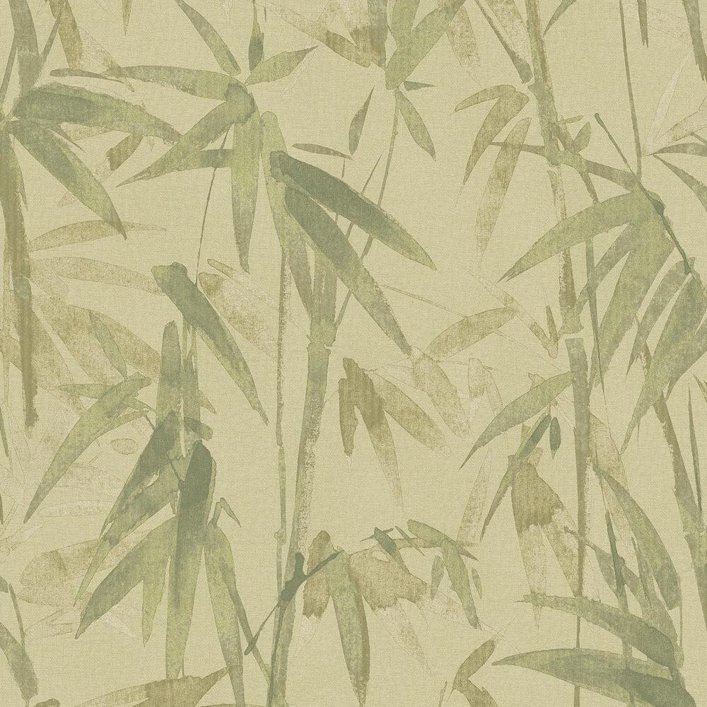 Обои Sirpi AltaGamma Life 23703 бамбуковая роща салатовая