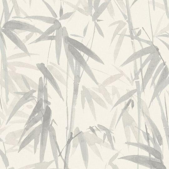 Обои Sirpi AltaGamma Life 23704 бамбуковая роща светло-серые