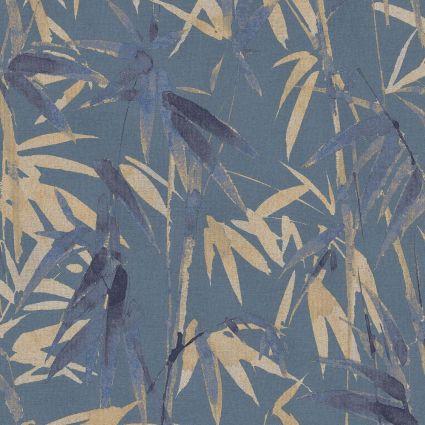 Обои Sirpi AltaGamma Life 23705 бамбуковая роща синие