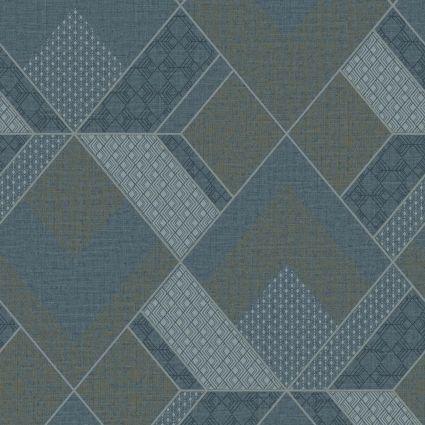 Шпалери Sirpi AltaGamma Kilt 24220 геометричний візерунок морська хвиля