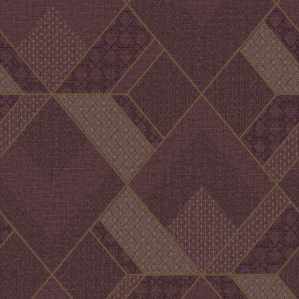 Обои Sirpi AltaGamma Kilt 24225 геометрический узор бордо