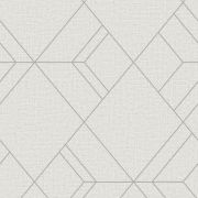 Шпалери Sirpi AltaGamma Kilt 24230 геометричні візерунки біло-сірі