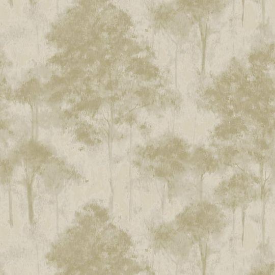 Обои Sirpi Komi 24701 деревья кремово-салатовые