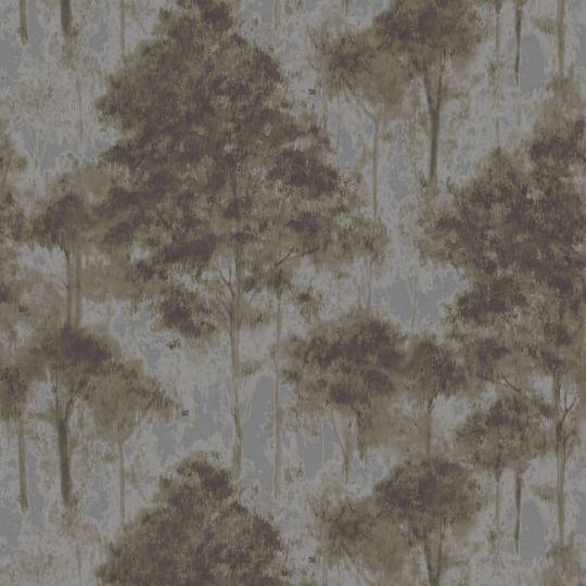 Обои Sirpi Komi 24706 деревья графитовые