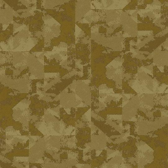 Обои Sirpi Komi 24742 под ткань коричнево-золотые