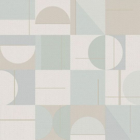 Шпалери Sirpi AltaGamma Home 3 24910 геометрія сіро-блакитна