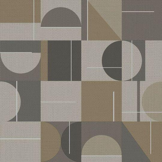 Шпалери Sirpi AltaGamma Home 3 24913 геометрія сіро-коричнева