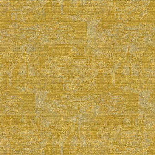 Велюровые обои Sirpi Italian Velour 25056 Рим золотой