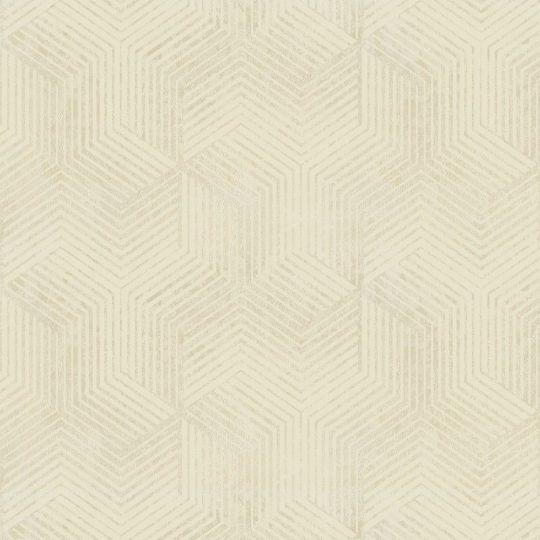 Велюрові шпалери Sirpi Italian Velour 25062 графіка світло-жовта