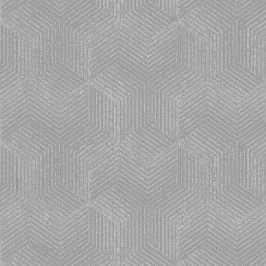Велюровые обои Sirpi Italian Velour 25064 графика серебро