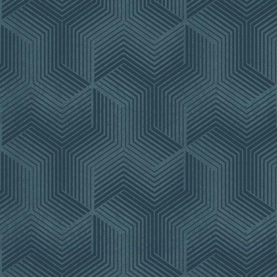 Велюровые обои Sirpi Italian Velour 25068 графика синяя