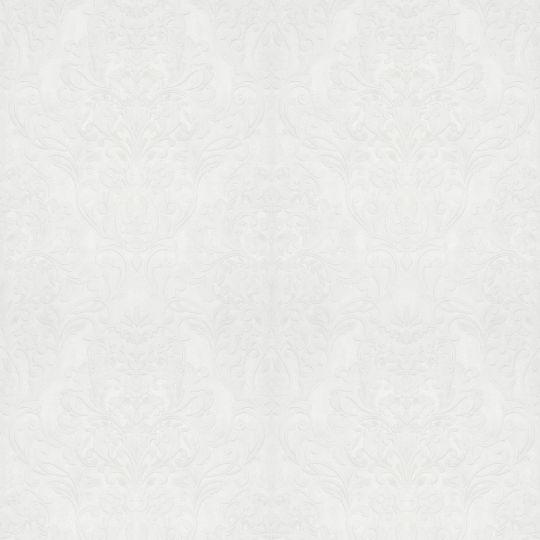 Шпалери Marburg City Glam 32301 з великим класичним візерунком білі