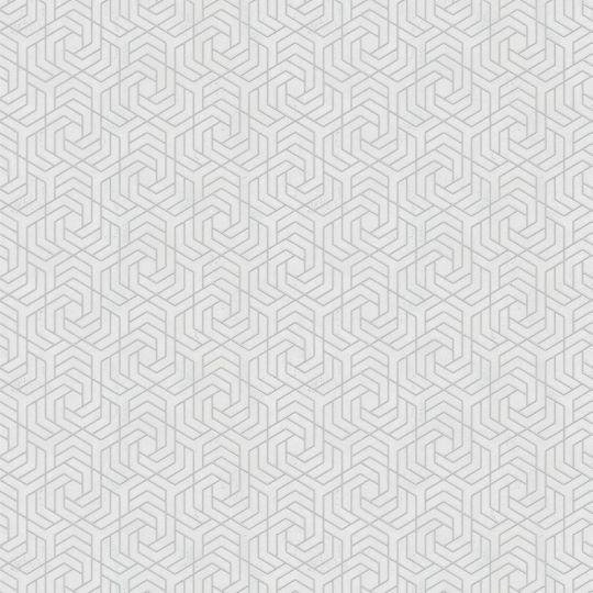 Шпалери Marburg City Glam 32307 з геометричним візерунком білі