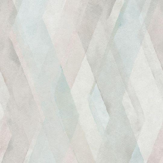Обои Marburg Shades 32451 геометрическая абстракция коричнево-голубая