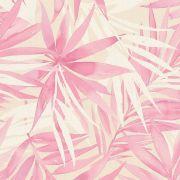 Шпалери AS Creation Designdschunge 34125-3 рожеві листя 0,53 х 10,05 м