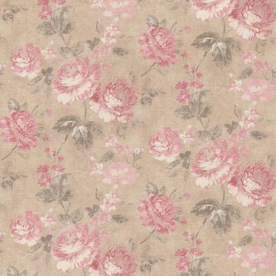 Обои AS Creation Graze 34773-3 розово-красные розы 1,06 х 10,05 м