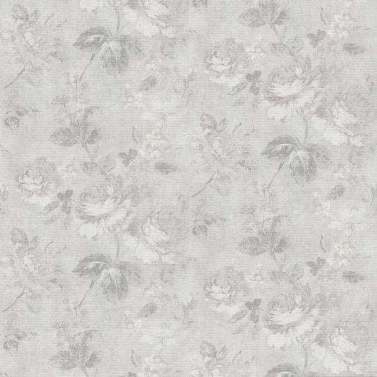 Обои AS Creation Graze 34773-6 серые розы 1,06 х 10,05 м
