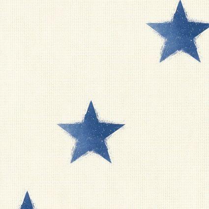 Обои AS Creation Cote d'Azur 35183-3 синие звезды 0,53 х 10,05 м