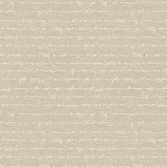 Шпалери AS Creation Cote d'Azur 35187-4 надписи на коричневому 0,53 х 10,05 м