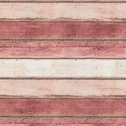 Шпалери AS Creation Cote d'Azur 35340-5 канати і рожево-червоні дошки 0,53 х 10,05 м