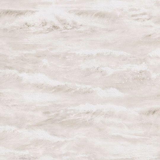 Шпалери AS Creation Cote d'Azur 35409-3 хвилі бежево-білі 0,53 х 10,05 м